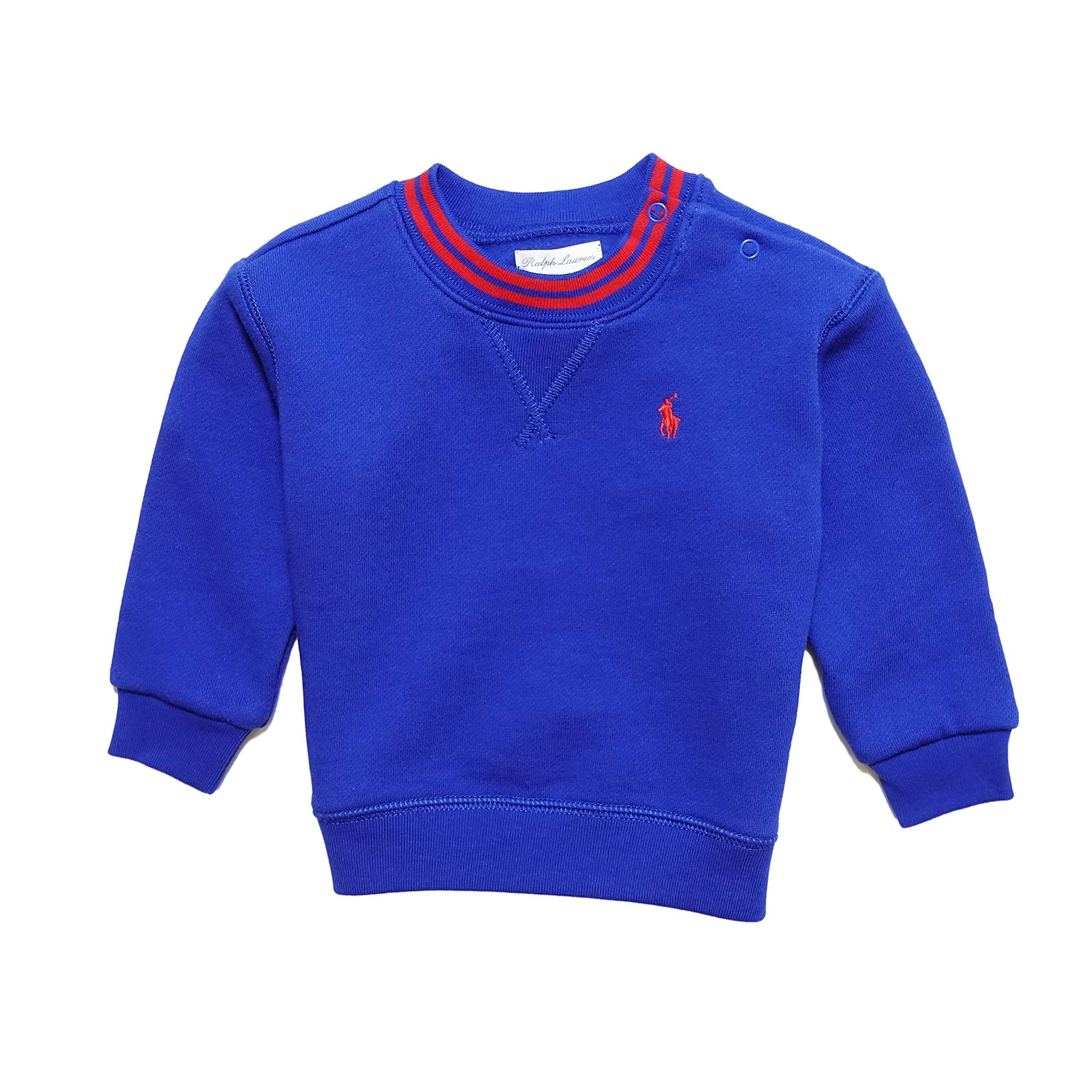 Ralph Lauren Baby Cotton Cotton-Blend-Fleece Sweatshirt 9m