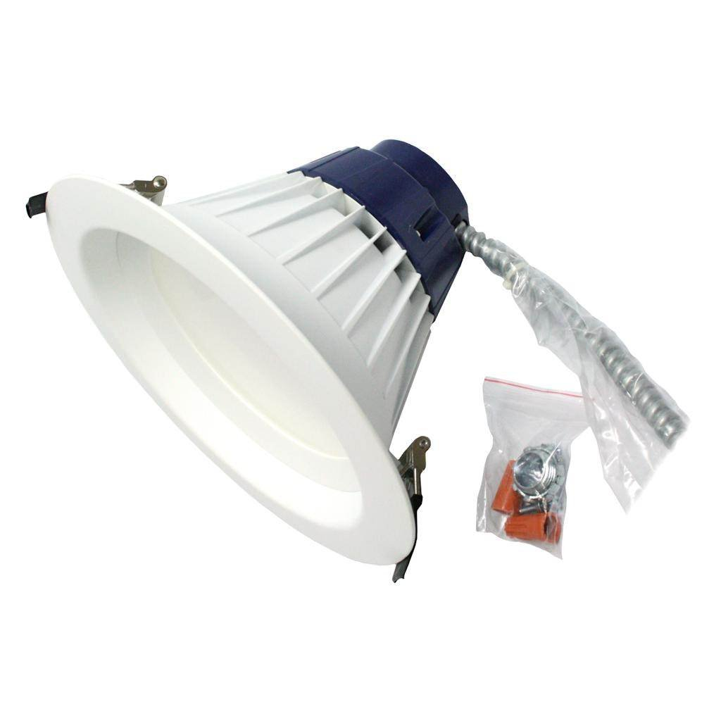Sylvania 74295 LED//RT5//6//900//930//FL80 LED Recessed Can Retrofit Kit with 5 6 Inch Recessed Housing