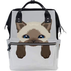 ママバッグ マザーズバッグ リュックサック ハンドバッグ 漫画 可愛い猫柄 用品収納 旅行用 大容量 多機能 出産祝い