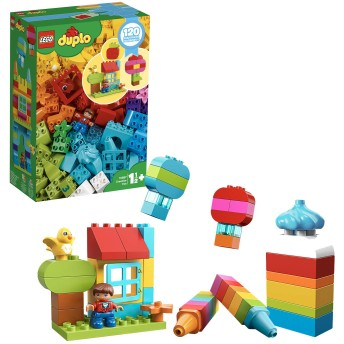 レゴ(LEGO) ブロック おもちゃ デュプロのいろいろアイデアボックスDX 10887 知育玩具 ブロック おもちゃ 男の子