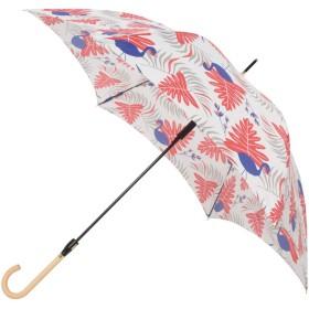 傘 日傘 晴雨兼用 UVカット レディース 軽量 スリム 軽量スリムジャンプ傘 サファリ mabu