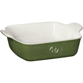 (Spring Green) - Emile Henry Made In France HR Modern Classics Square Baking Dish 20cm x 20cm/1.9l, Green