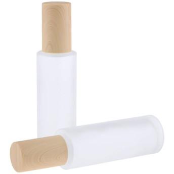 2個 ポンプボトル 香水ボトル アトマイザー スプレーボトル コスメ 詰替え容器 便利 6サイズ選べ - 80ミリリットル