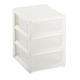 カラーボックスに入る引出収納 (A5サイズ用 浅型 3段)