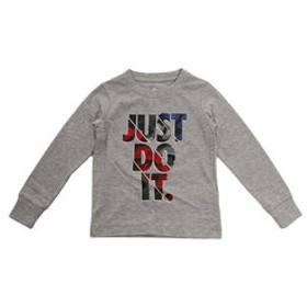 【Super Sports XEBIO & mall店:トップス】NIKE CAMO JUST DO IT 長袖Tシャツ 76F876-042