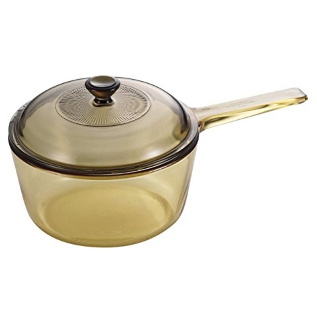 超耐熱ガラス鍋 VISIONS ソースパン1.0L ガラス鍋 片手鍋