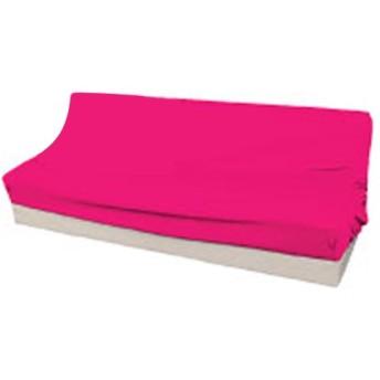 Arie(アーリエ) ソファーカバー クイーン ソファーベッド用 W175-195×D85-100×H30-45cm ピンク
