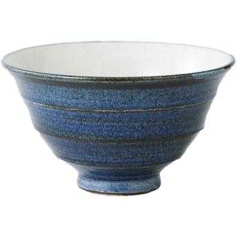波佐見焼 お茶漬碗 藍色 41944