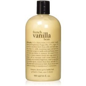 French Vanilla Bean Shampoo, Shower Gel & Bubble Bath[並行輸入品]