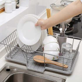 ドレインラック皿ラックホルダー + 皿ラックシンク食器キッチン用品プール皿ラック皿ラック皿ラック