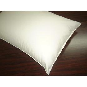 国産ソフトパイプ枕 高密度生地使用 43x63cm オフホワイト