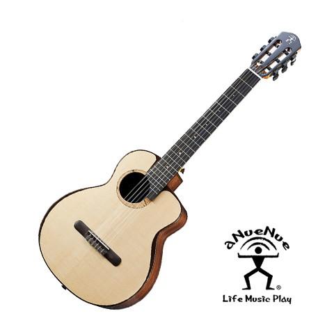 aNueNue Fly Bird 全單鳥吉他 MN214E 月亮鳥 旅行吉他 附原廠袋 小吉他 古典吉他 【黃石樂器】