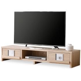 LOWYA TVボード テレビ台 TV台 おしゃれ 50型 幅150cm スクエア脚 オーク