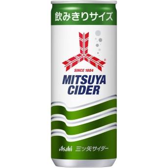アサヒ飲料 三ツ矢サイダー 缶 250ml×20本