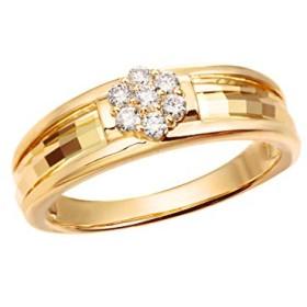 [ジュエリーツツミ]JEWELRY TSUTSUMI K18イエローゴールドダイヤモンドリング RFR024 12号