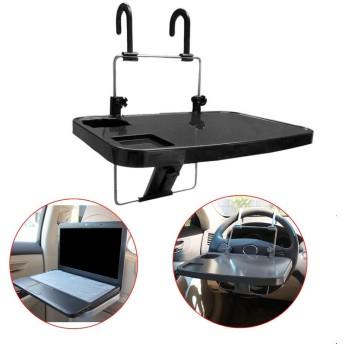 実用的なカーシート取り付けトレイホルダー用ラップトップデスクトップノートブックフードテーブルデスクトップカップタブレットスタンドホルダーアクセサリーとパーツ