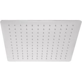 スクエア30センチ12クローム超薄型スクエアステンレススチール降雨量オーバーヘッドシャワーヘッド