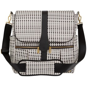 JJ Cole Backpack Diaper Bag, Black and Cream by JJ Cole