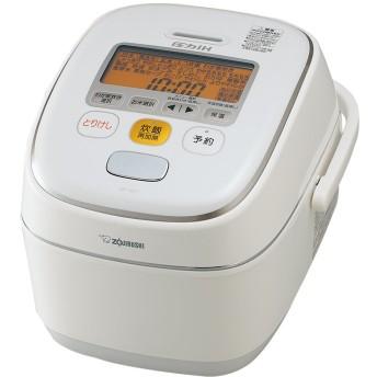 象印 炊飯器 圧力IH式 5.5合炊き ホワイト NP-YS10-WA