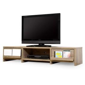 LITENStaD テレビ台 ローボード TVボード 幅140cm × 奥行40cm × 高さ30cm オーク LSD-06-0004-ok