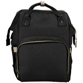 マザーズバッグ マザーズリュック ママバッグ USB充電ポート付き 保温ポケット 大容量 多機能 おむつポーチ 防水 出産祝い ベビー用品収納 (#3)