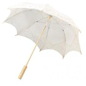 SONONIA セール お買い得 2点 綿製 パラソル/日傘  ブライダル/女の子の結婚式/パーティーの装飾 写真プロップ ベージュ