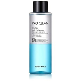 (3 Pack) TONYMOLY Pro Clean Smoky Lip & Eye Remover - Moisturizing and Deep Cleansing (並行輸入品)