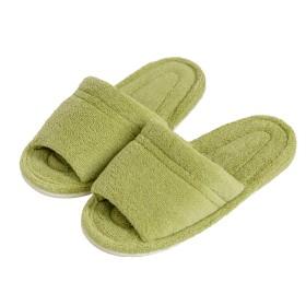 オカ 乾度良好 Dナチュレ スリッパ Mサイズ (足のサイズ約25cmまで) (グリーン)