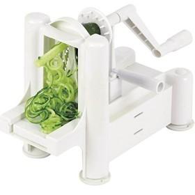 野菜スライサー 料理 クッキング 調理器具 かんたん 野菜が麺 野菜を麺 手回し 薄切り スライス てまわし 便利 簡単