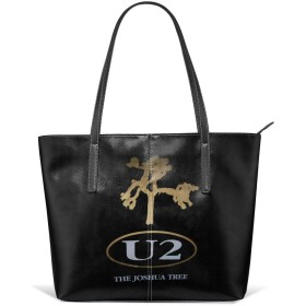 U2 The Joshua Tree トートバッグ レディーズ 手提げバッグ ファスナー 防水 大容量 オシャレ 通勤 ビジネス カジュアル お出かけ ショッピング ストリート 女性用