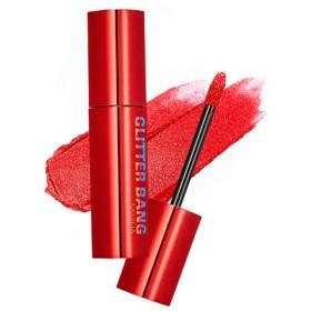 Missha Dare Lip Tint Glitter Bang ミシャリップティントグリッター (# RD01 Red Spirit) [並行輸入品]