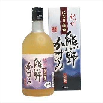 プラム食品 にごり梅酒 熊野かすみ 720ml アルコール度数8%