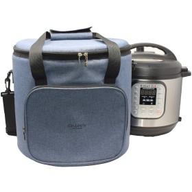 Chloeのホーム旅行バッグfor Instant Pot–万能トートバッグfor Smallアプライアンス& More with Carryingストラップ、ハンドル、&外部Zip pocket-インスタントポットアクセサリーfor旅行 8QT