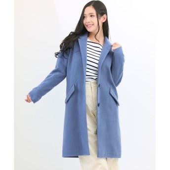ソーシャルガール Social GIRL チェスターコート (94丈ブルー)