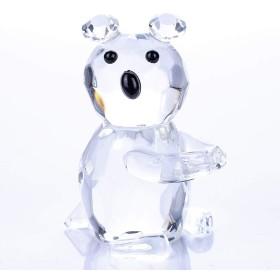 H&D 置き物 オブジェ ガラス製熊 リゾート★インテリア小物 置物 おしゃれ かわいい
