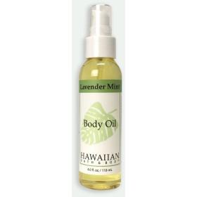 ハワイアンバス&ボディ ラベンダーミント・ボディオイル 118ml Lavender Mint Body Oil