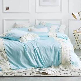 布団カバー 枕カバー 新築祝い 現代 ベッドカバーセット 寝具 セット ファション 綿 ベッド用4点セット おしゃれ ダブル SFANY