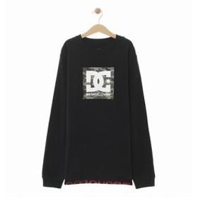 【クイックシルバー:トップス】【DC ディーシー公式通販】ディーシー (DC SHOES)19 KD BOX STAR LS キッズ Tシャツ 長袖 プリント ロゴ クルーネック