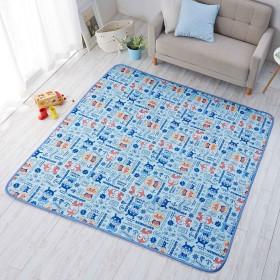バンダイ(BANDAI) 冷感ラグ アンパンマン ブルー 1畳(92×185cm) TO-31 100241005401-01-02