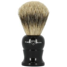 エドウィンジャガー スーパーバッジャーアナグマ毛 エボニー シェービングブラシミディアム1EJ286[海外直送品]Edwin Jagger Super Badger Ebony Shaving Brush Medium 1EJ286 [並行輸入品]