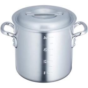 アカオアルミ 寸胴鍋 18cm アルミニウム合金、ハンドル(アルミダイキャスト) 日本製 AZV16018
