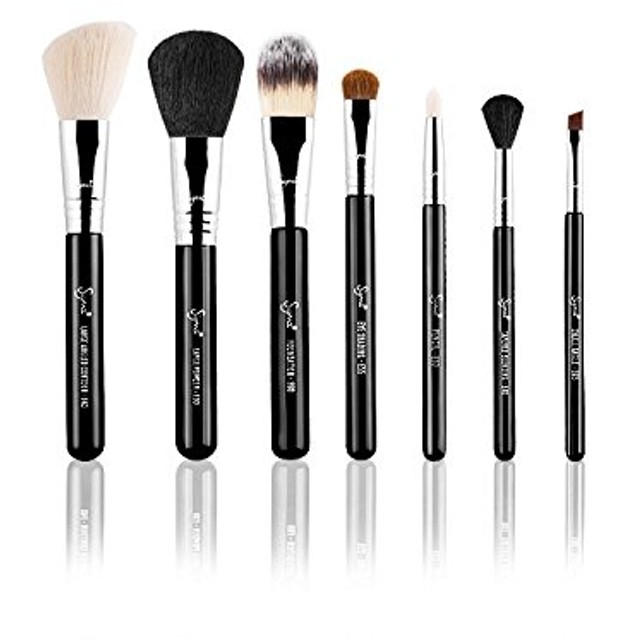 シグマ ビューティ Make Me Classy Travel Kit Professional Brush Collection - # Black 7pcs並行輸入品