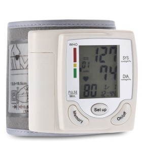 グスタラ CK-101Sヘルスケア 手首 ポータブル デジタル 自動 血圧計