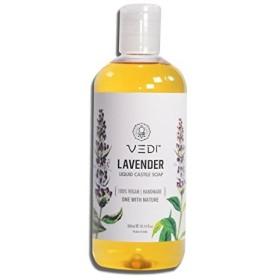 LAVENDER LIQUID CASTILE SOAP (200ml)