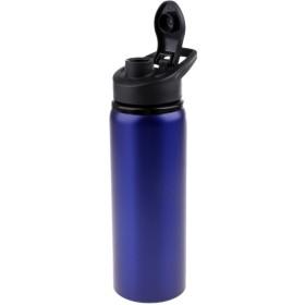 サイクリングスポーツ 0.7L ステンレススチール ワイドウォーターボトル 青