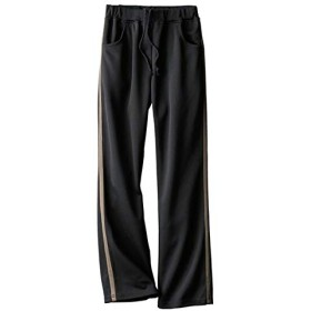 [nissen(ニッセン)] ジャージ パンツ 大きいサイズ レディース 黒 3L