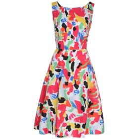 スイングドレス ノースリーブ レディーズ YOKINO ヴィンテージドレス コットン純色 セクシーOネック50年代 ゴージャスワンピース 欧美復古風 結婚式 お呼ばれ 優雅復古風 洋服 パーティー 結婚式 (M, マルチカラー)