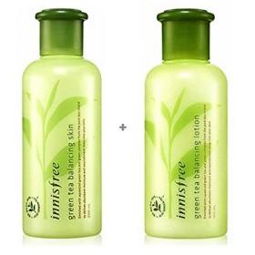 [イニスフリー] Innisfree グリーンティー バランシング スキンケア 2種セット(スキン+ローション) Innisfree Green Tea Balancing Skin Care Set(Skin+Lotion) [海外直送品]