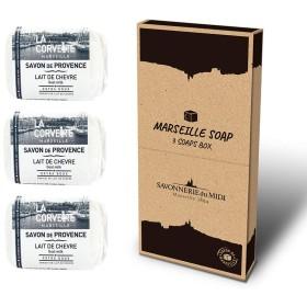 マルセイユソープ 3Soaps BOX ゴートミルク