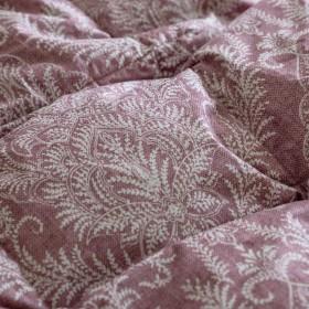 西川リビング 羽毛肌掛け布団 シングル ハンガリー産マザーグース93% 超長綿 抗菌 日本製 48192 エンジ[19] シングル